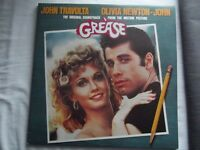 ORIGINAL GREASE SOUNDTRACK VINYL DOUBLE LP