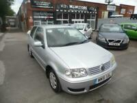 2001 Volkswagen Polo 1.4 Match 3dr Auto HATCHBACK Petrol Automatic