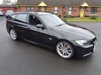 2007 BMW 320i MSPORT PETROL TOURING ESTATE PX CASH EITHER WAY R32 X5 X3 LAND ROVER ETC
