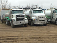 Water truck drivers needed