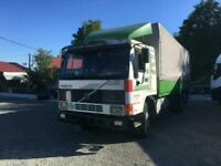 LEFT HAND DRIVE Volvo FL7 26 ton Curtainside truck, Manual pump and injectors