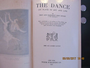 The Dance Its Place in Art and Life