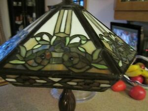 Beautiful  stained glass lamp West Island Greater Montréal image 2