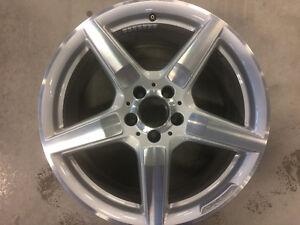 "MY2013 Mercedes CLS 19"" OEM wheels $699 or trade"