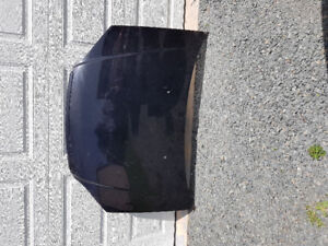 2001-2003 Honda civic hood. Black