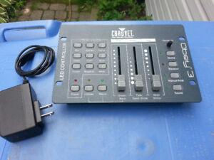 console  DMX   3 canaux  chauvet Obey