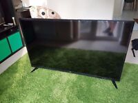 Bush 55 inch TV with Freeview