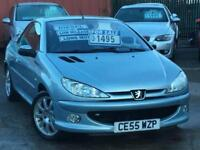 2005 PEUGEOT 206 CC Sport Hdi Coupe Cabriolet 1.6