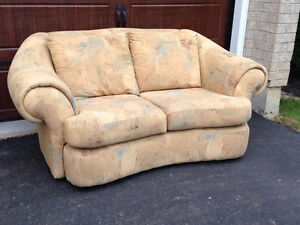 Plush Love Seat for sale