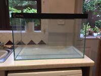Fish tank/aquarium plus gravel