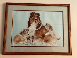 Mama & Her Pups Picture