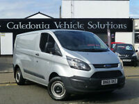 2015 65 Ford Transit Custom 2.2TDCi ( 100PS ) Double Cab-in-Van 290 L1H1