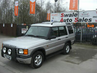 2000 LANDROVER DISCOVERY 2.5L Td5 4 WHEEL DRIVE, 7 SEATER