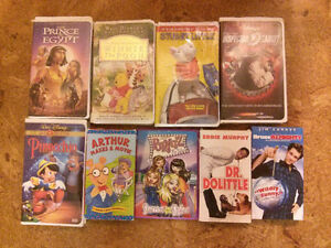 Kids Disney and More VHS
