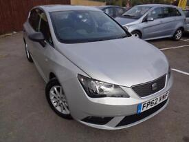 Nov 2012 Seat Ibiza 1.2 TDI ( 75ps ) CR Ecomotive ( A/C ) S