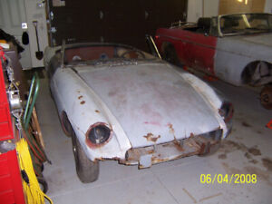 Solid MGB project for sale-- REDUCED!
