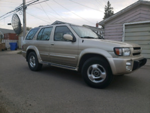 1997 QX4 Infiniti Sport Utility Vehicle