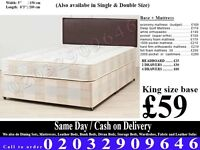 King and Double Bedding at Best PRICE base and frame Miami