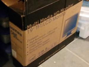 19 inch lcd monitor/tv