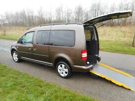 2013 Volkswagen Caddy 1.6 Hdi Automatic ONLY 13K Wheelchair Accessible Vehicle