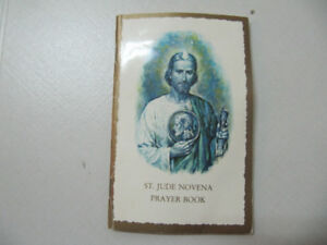 Authentic St. Jude Novena Prayer Book Chicago USA Circa 1988