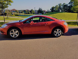 2009 Mitsubishi Eclipse Coupe (2 door) Beautiful Sunset Colour