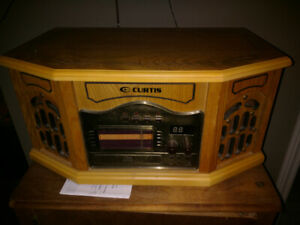 Vintage style record player
