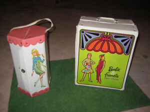 Francie and Barbie cases collection 1965