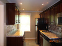 Lovely renovated two bedroom with hardwood floors