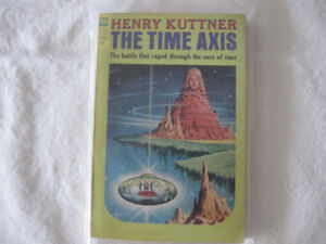 Time Axis-Henry Kuttner-Ace paperback