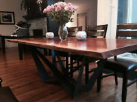 Lexington Solid Oak Dining table - New
