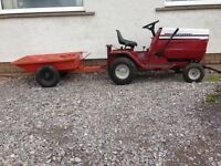 Lawnflite tractor