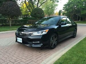 RARE 2016 Honda accord sport 6 speed MANUAL lease takeover