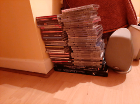 82 disc CD collection, plus 10 DVD all in one lot