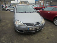 Vauxhall Corsa 1.0i 12v Active 3 DOOR - 2004 04-REG - 4 MONTHS MOT