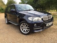 STUNNING 2007 BMW X5 7 SEATER LOW MILEAGE 85k 3.0 DIESEL HPI CLEAR M SPORT BODY KIT