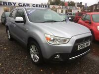 2010 MITSUBISHI ASX 1.8 3 ClearTec 5dr DIESEL 4 X 4