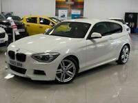 2013 63 BMW 1 SERIES 2.0 118D M SPORT 3D 141 BHP DIESEL