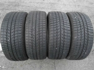 Like New Michelin X-Ice 3 225/50/17 Winter Tires BMW Acura Honda