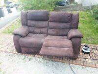 Harvey's electric recliner sofa. Possible delivery