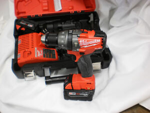 New Milwaukee fuel M18 drill-driver hammer