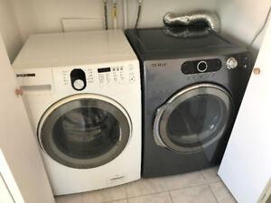 Ensemble machine à laver et sécheuse Samsung