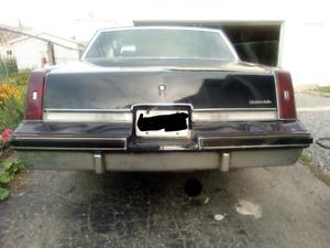 1985 cutlass, built motor, trans, and rear end.