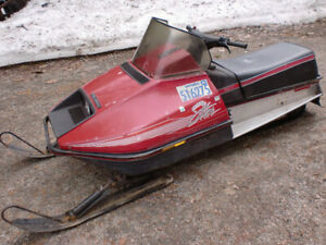 1985 Polaris STAR Ready to ride bush sled or great kids sled