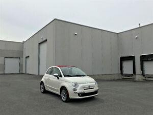 Fiat 500C ** Bas KM, Décapotable, 49$/semaine **