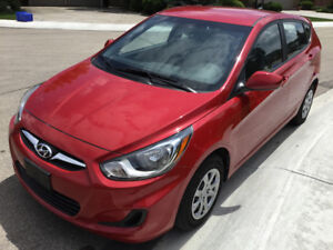 2013 Hyundai Accent SL Hatchback Very low 17000 KMS