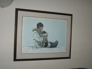 "Dorothy Francis~""Nursing Mother"" Limited Edition Numbered Print Kawartha Lakes Peterborough Area image 1"