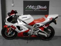 YAMAHA YZF R1 1st model year 1998 S' plate Red/White Excellent
