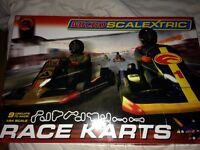 Scalextric race karts swap for mountain bike disk wheels hydraulic brakes