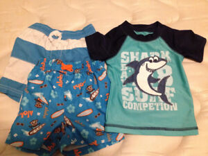 6-12 month boys swimwear